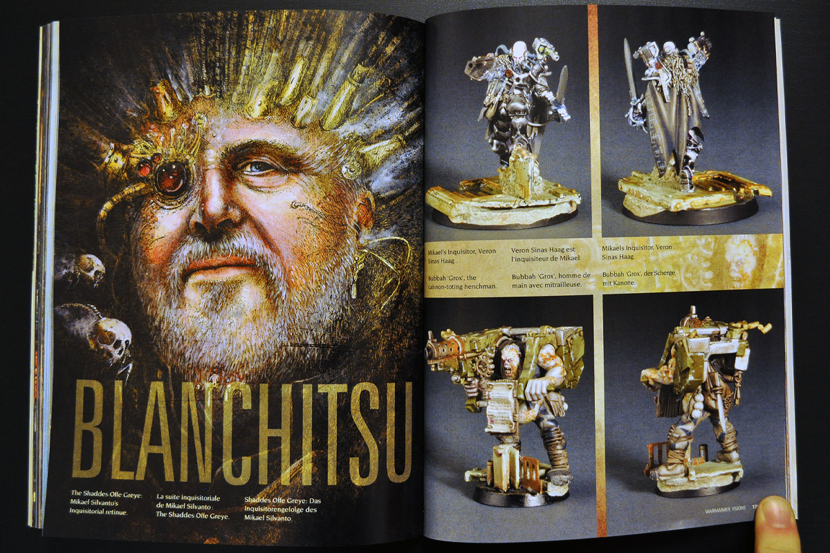 Warhammer Visions March 2014 Blanchitsu (part 1 of 3)