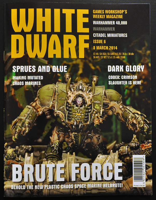 White Dwarf March 2014 Week 2 Cover