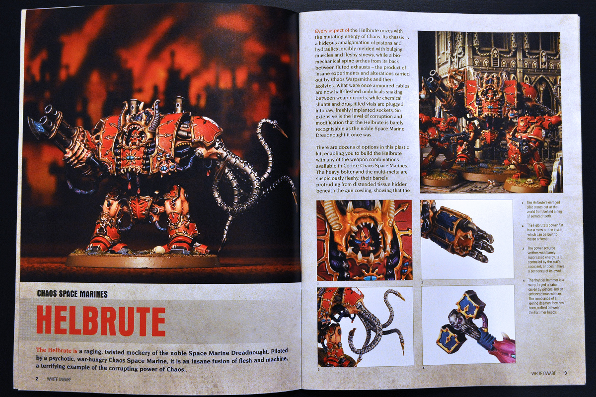 White Dwarf March 2014 Week 2 Hellbrute (part 1 of 3)