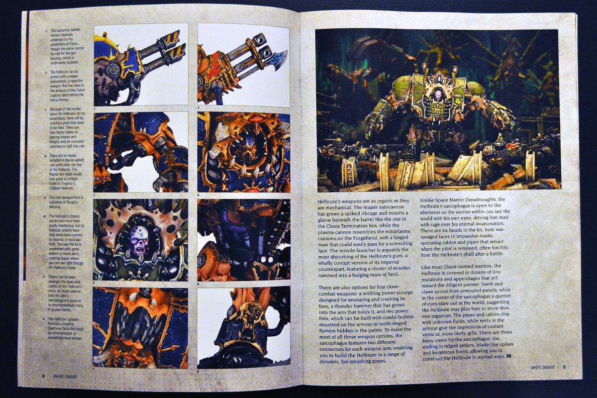 White Dwarf March 2014 Week 2 Hellbrute (part 2 of 3)