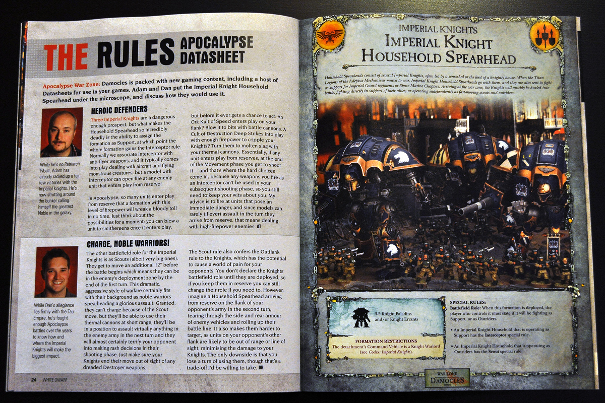 White Dwarf March 2014 Week 3 Hellbrute (part 2 of 3)