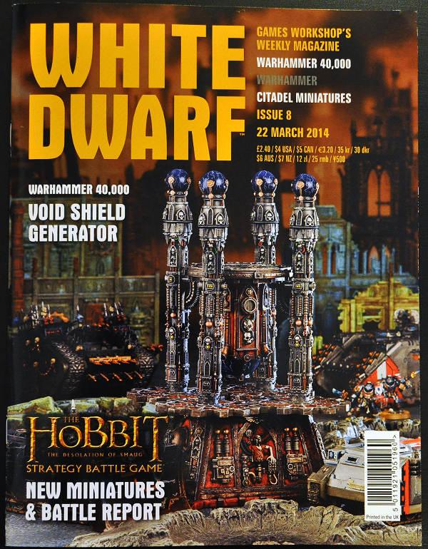 White Dwarf March 2014 Week 4 Cover